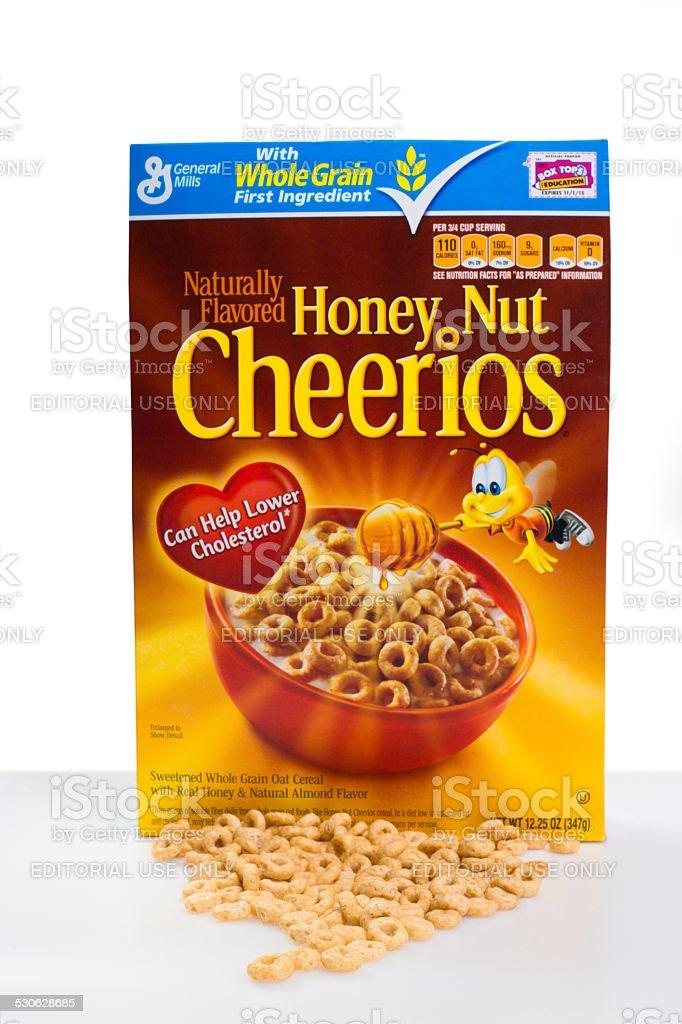 Honey Nut Cheerios stock photo