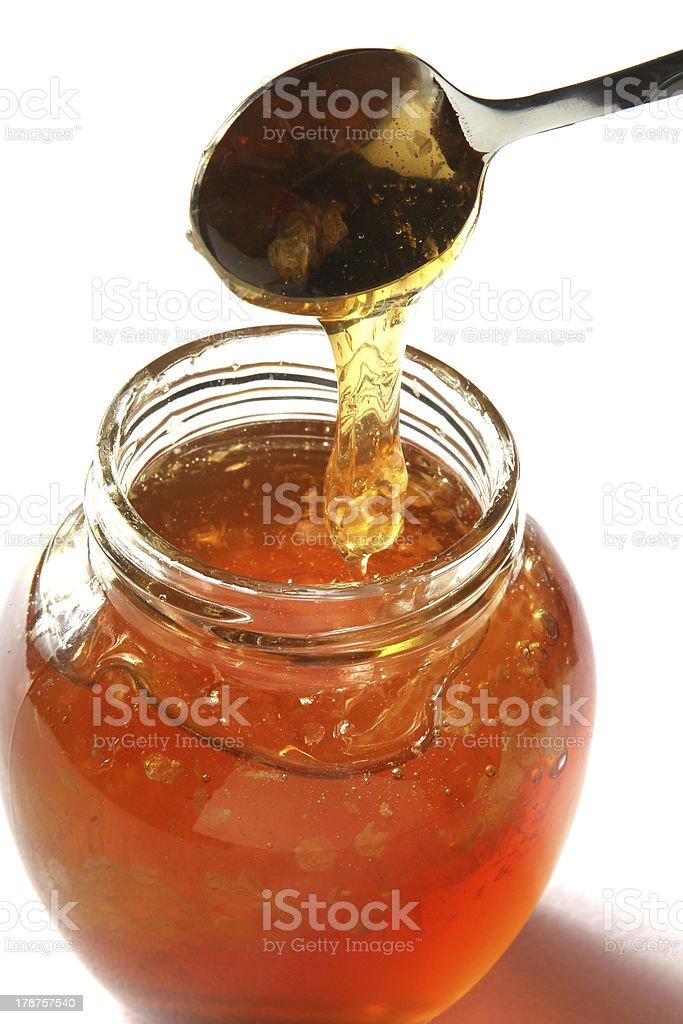 Honey royalty-free stock photo