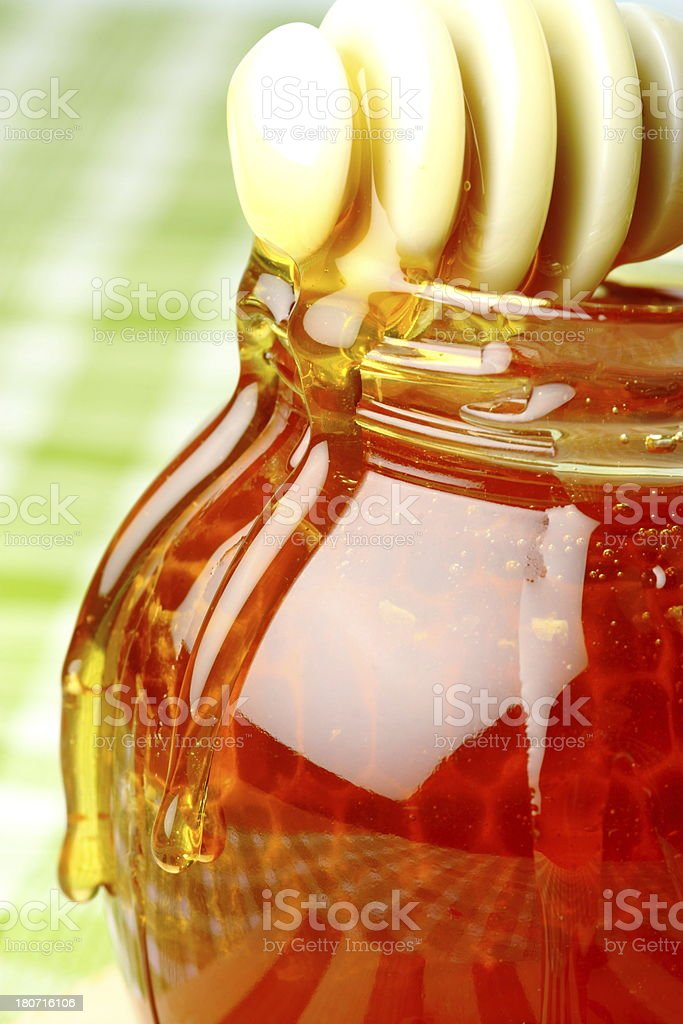 Honey royalty-free stock photo