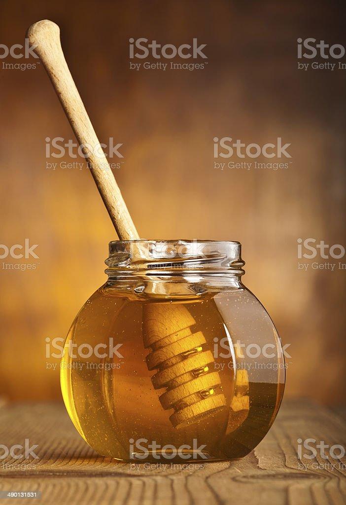 Honey stock photo