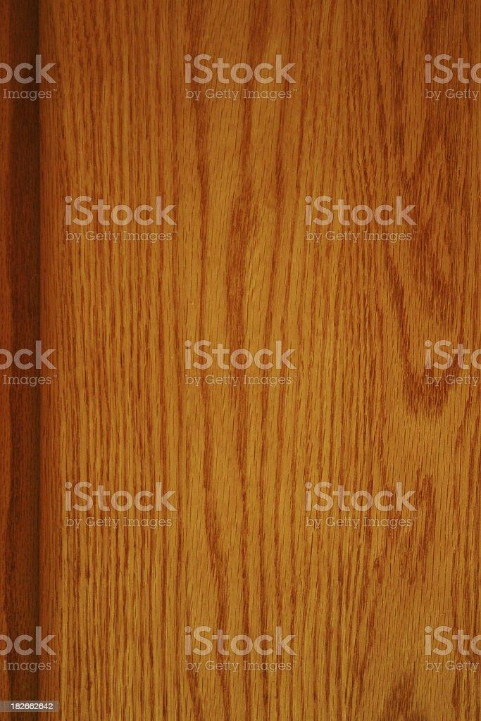 Honey Stained Oak Wood royalty-free stock photo