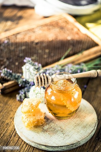 Honey Still Life Image Stock Photo & More Pictures of Agriculture