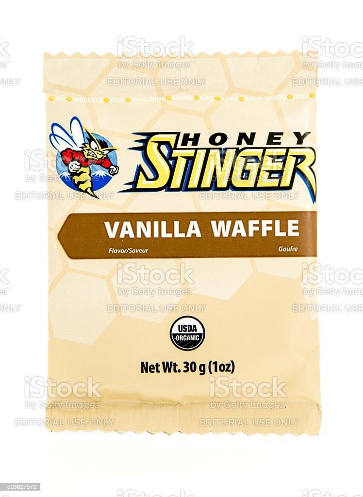 Honey Stinger stock photo