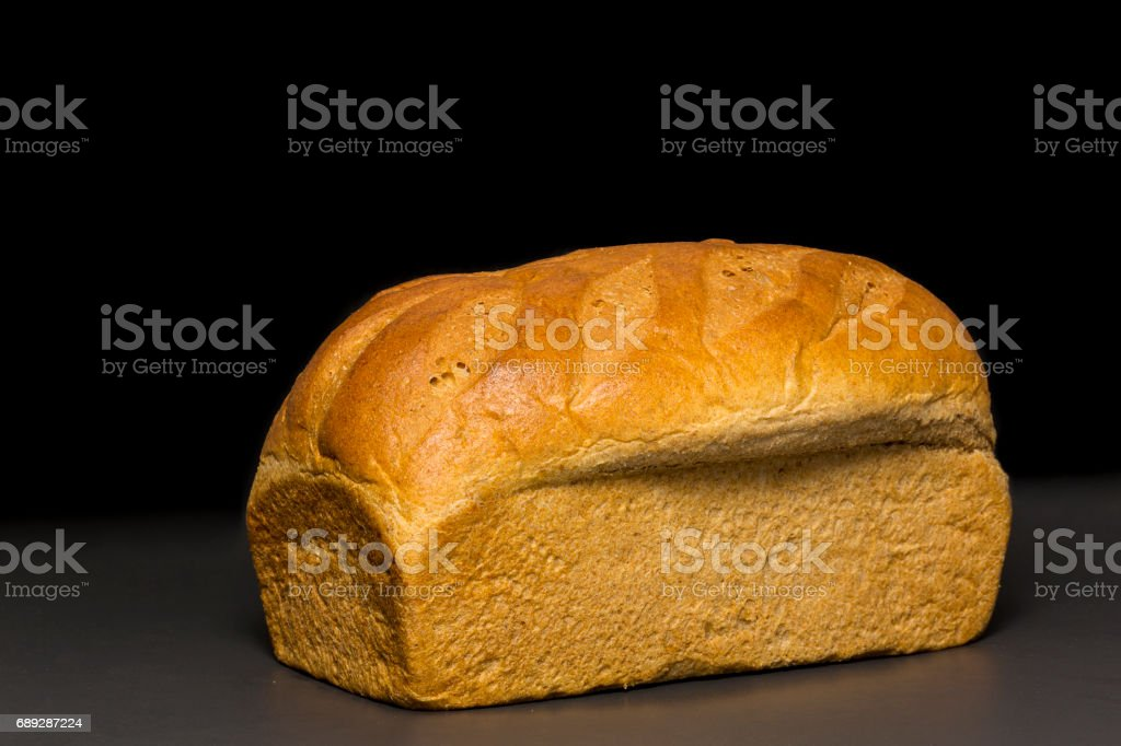 Honey Wheat Bread Loaf stock photo