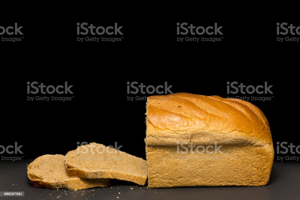Honey Wheat Bread stock photo