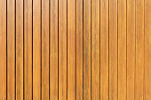 Honey-colored vertical wooden wall