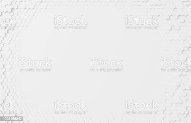 Honeycomb Background Design Pattern Frame Stock Photo - Download Image Now