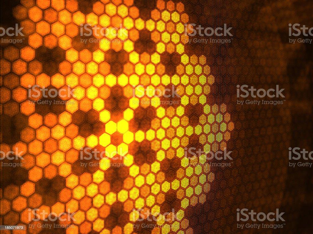 Honeycomb backgrounds royalty-free stock photo
