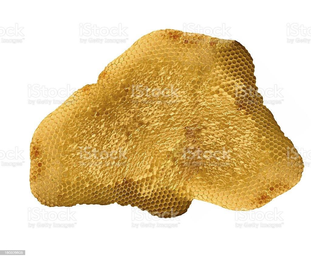 Honeycomb close up stock photo