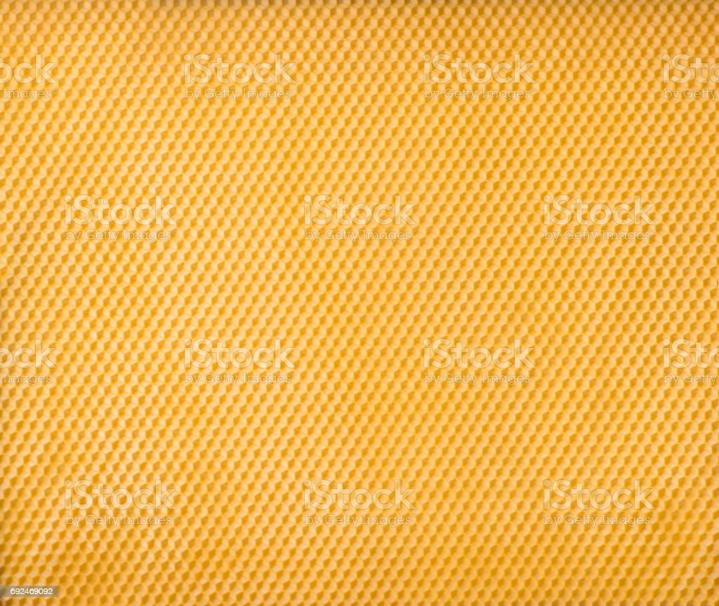 Honeycomb foundation plate pattern. stock photo