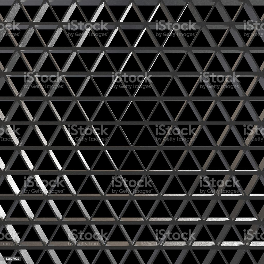 Honeycomb Grid royalty-free stock photo