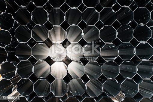 istock Honeycomb Grid 542558444