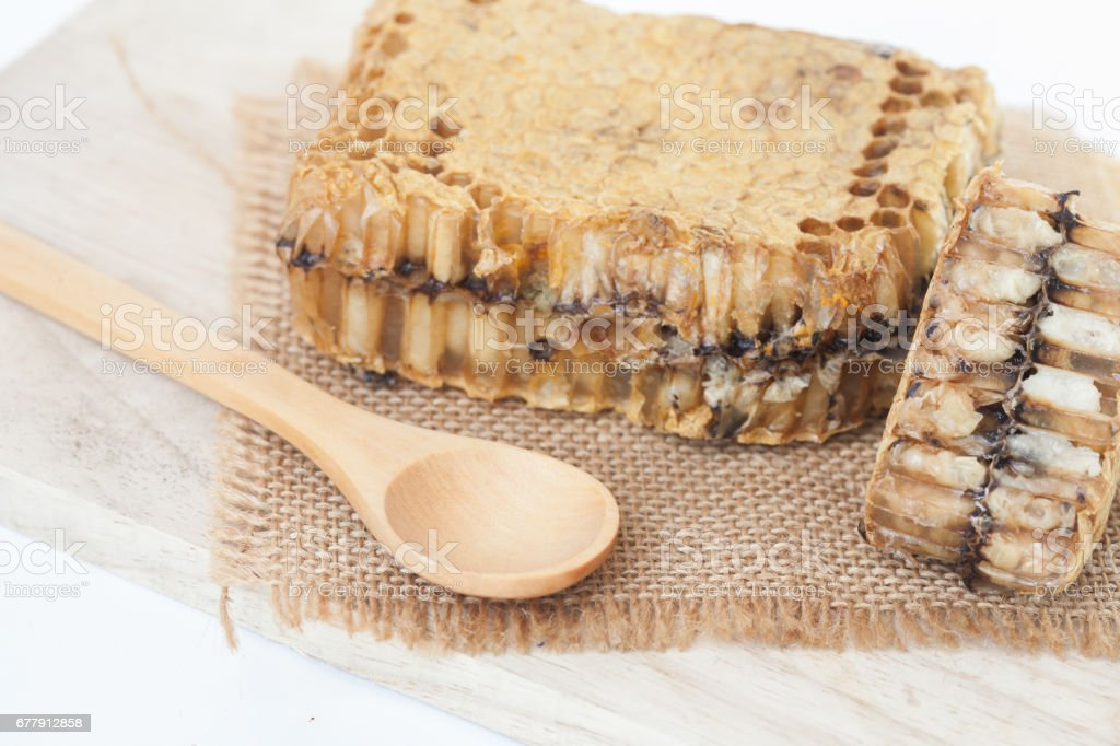 honeycomb on isolate or white background royalty-free stock photo