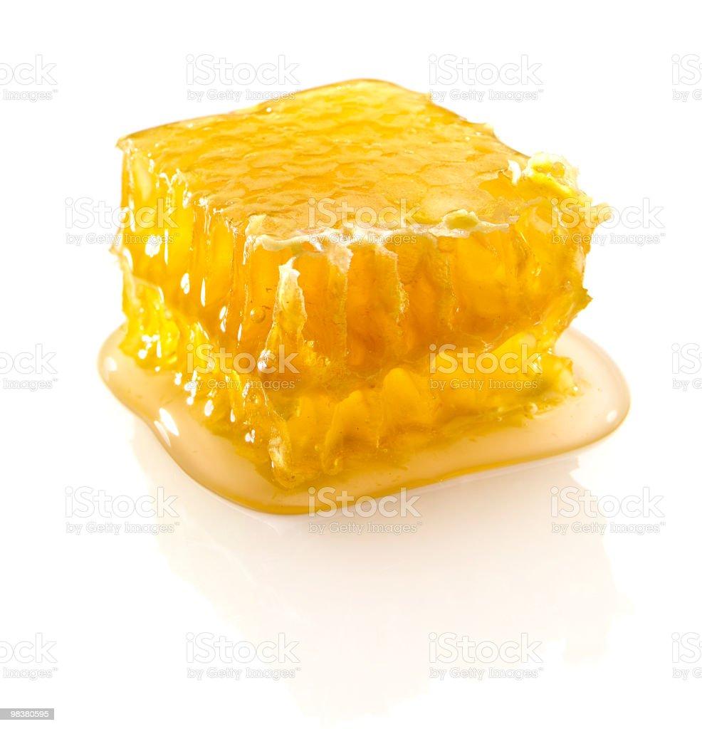 Honeycomb on White royalty-free stock photo