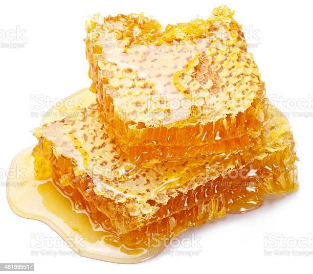 Panal Foto de stock y más banco de imágenes de Cera de abeja