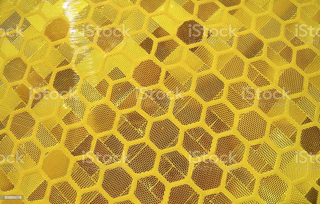 Honeycomb Reflector stock photo