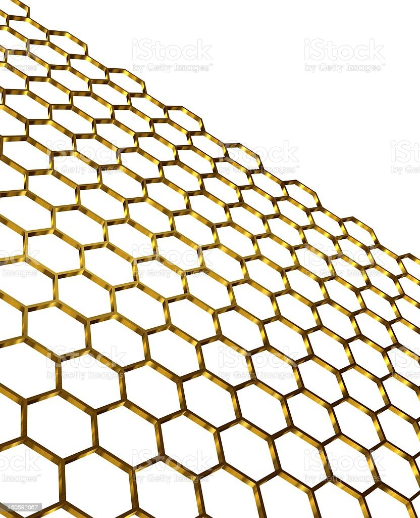 honeycomb structure stock photo