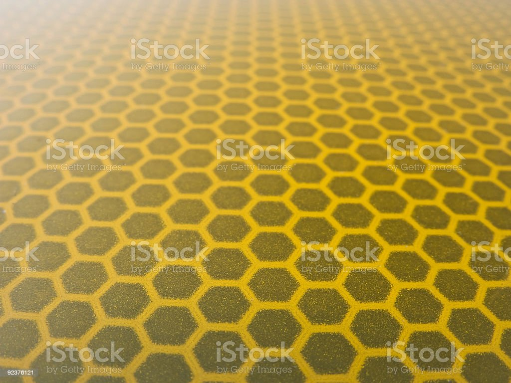 Honeycomb structure royalty-free stock photo