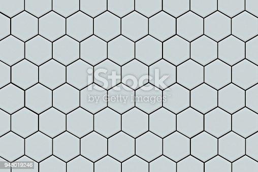 istock Honeycomb Tile Background 948019246