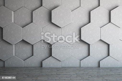 istock Honeycomb Wall 616098144