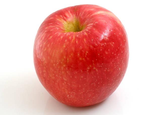 Honeycrisp apple stock photo
