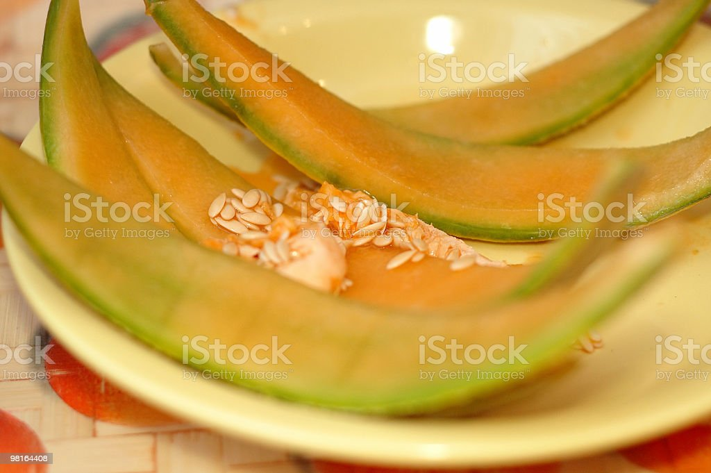 Melone d'Inverno foto stock royalty-free