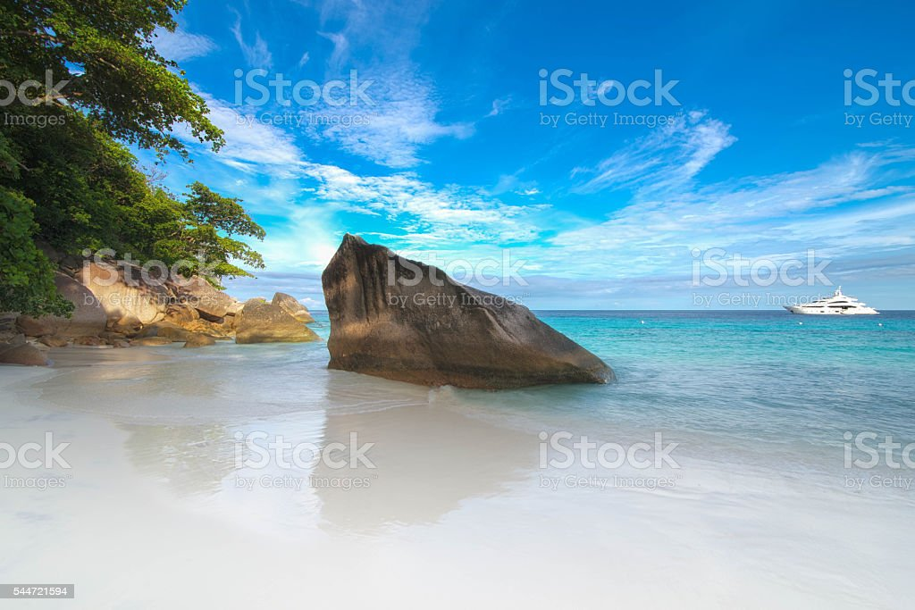 Honeymoon Bay , Similan Islands , Phang Nga ,Thailand stock photo