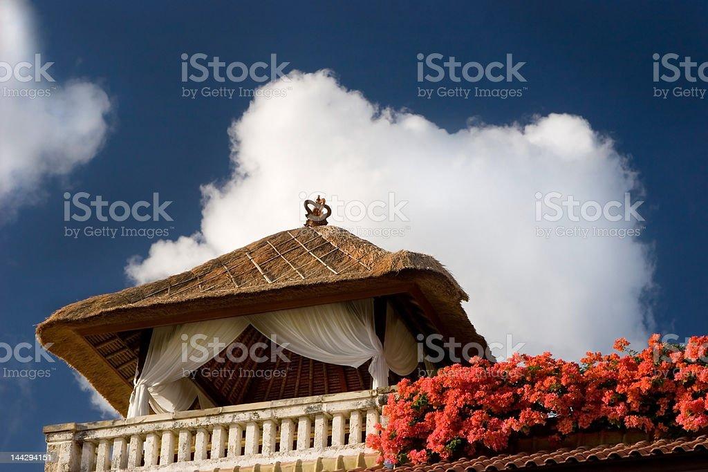 Honeymoon house royalty-free stock photo