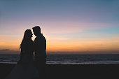 Beach, Couple - Relationship, Honeymoon, Tropical Climate, Brazil
