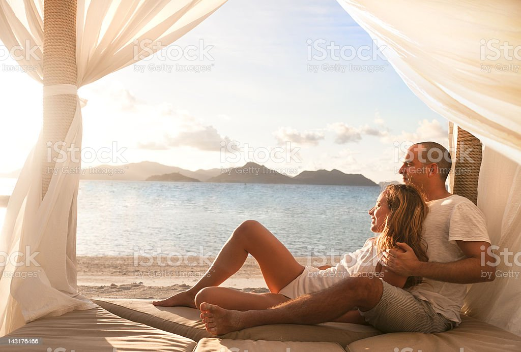 Honeymoon stock photo