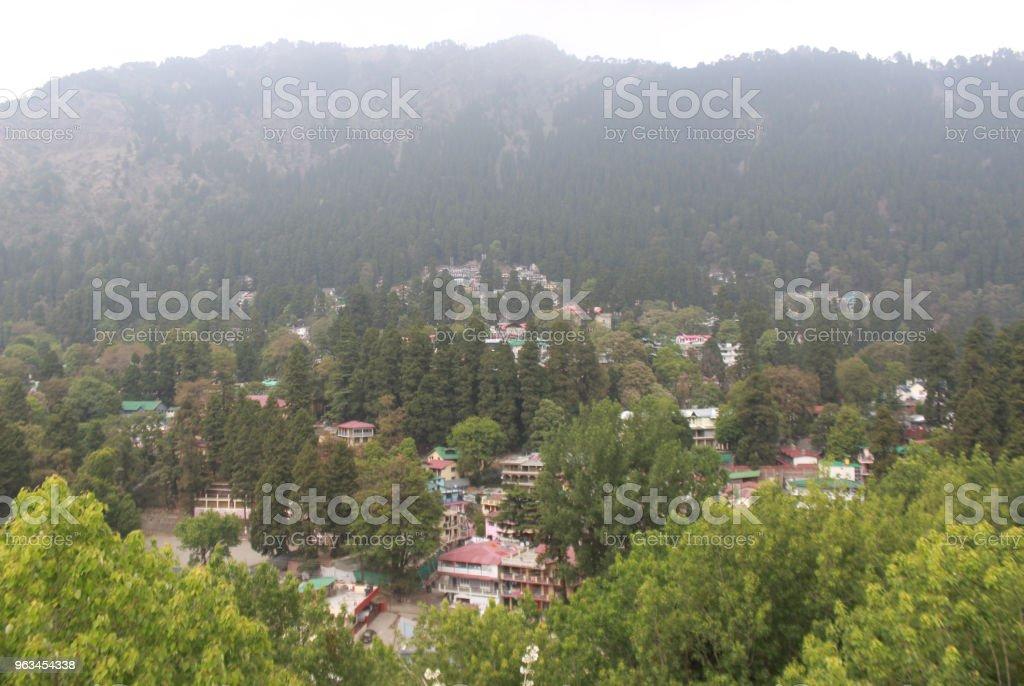 Miesiąc miodowy Miejsce w okresie letnim: Wycieczka do Nainital - Zbiór zdjęć royalty-free (Aranżować)