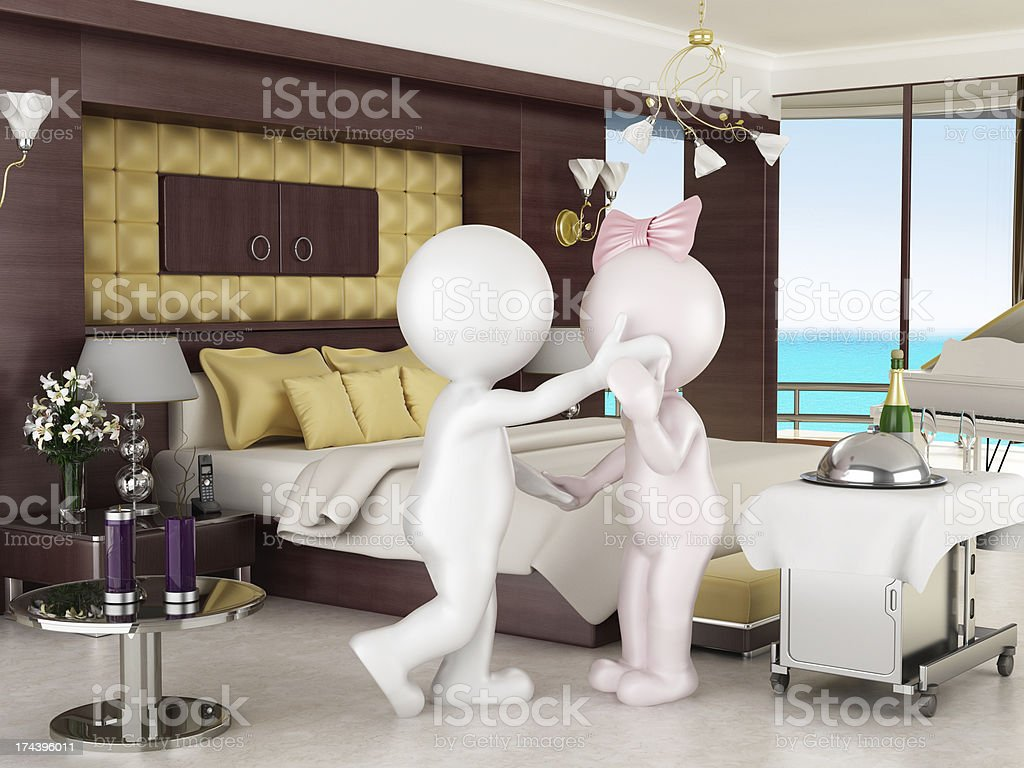 Honeymoon suite royalty-free stock photo