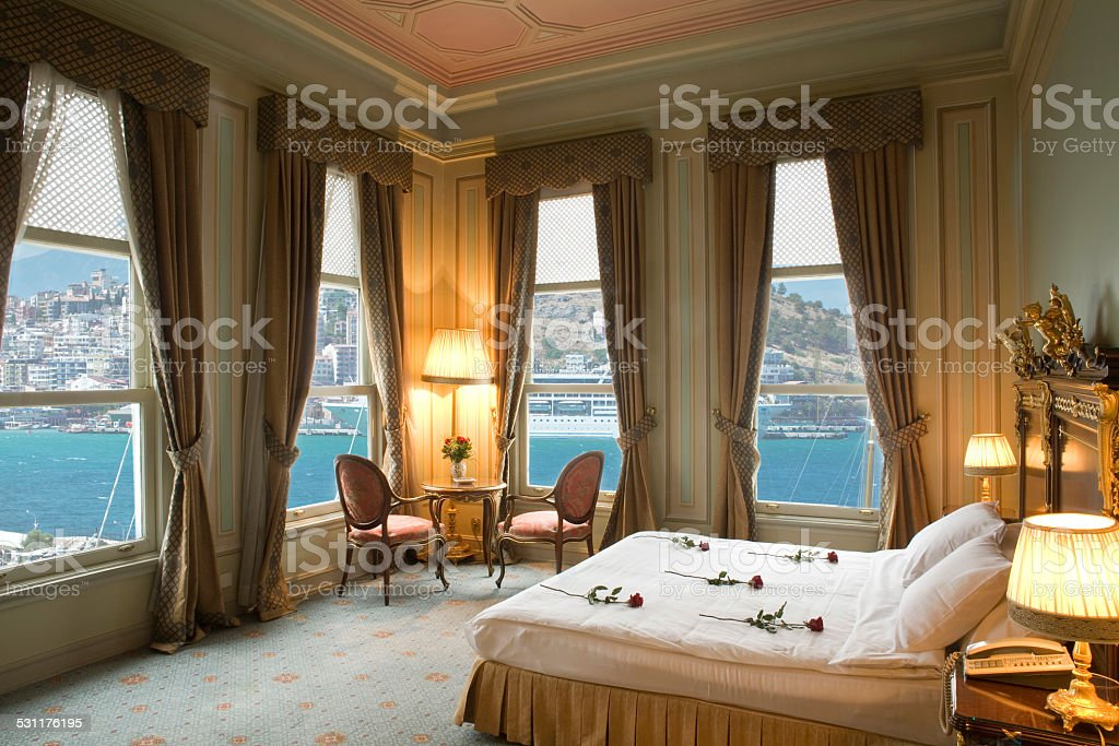 Honeymoon suite stock photo
