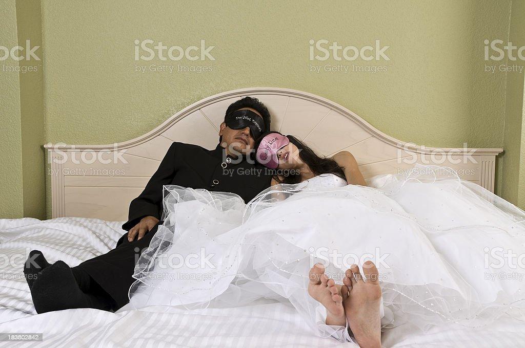 Honeymoon Sweet stock photo