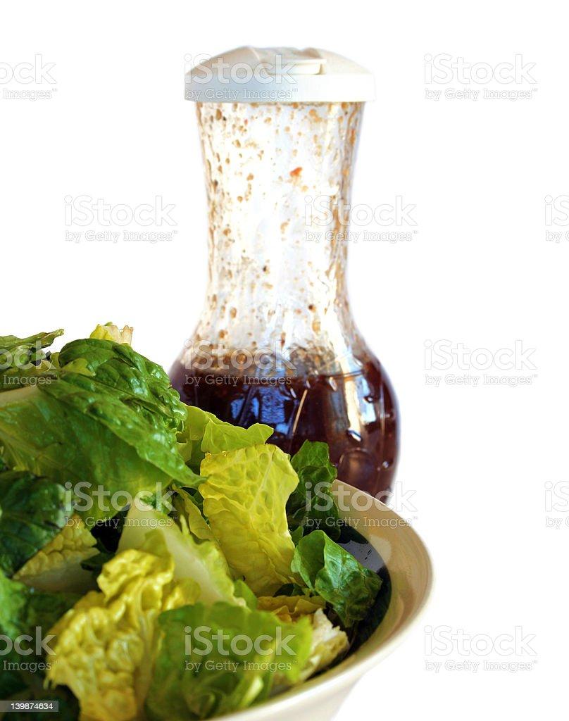 'Honeymooner's Salad' - ('Just Lettuce Alone') royalty-free stock photo