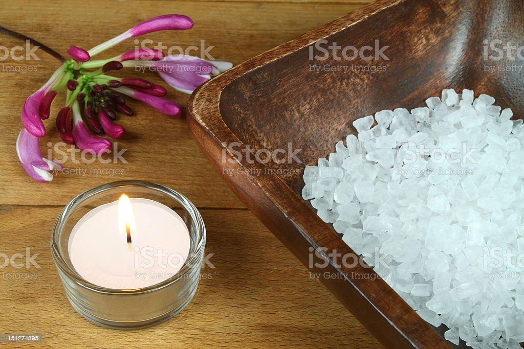 Honeysuckle aromatherapy royalty-free stock photo