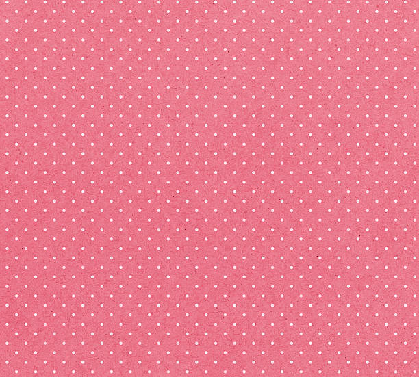 honeysuckle paper with white dots - femininity stock pictures, royalty-free photos & images