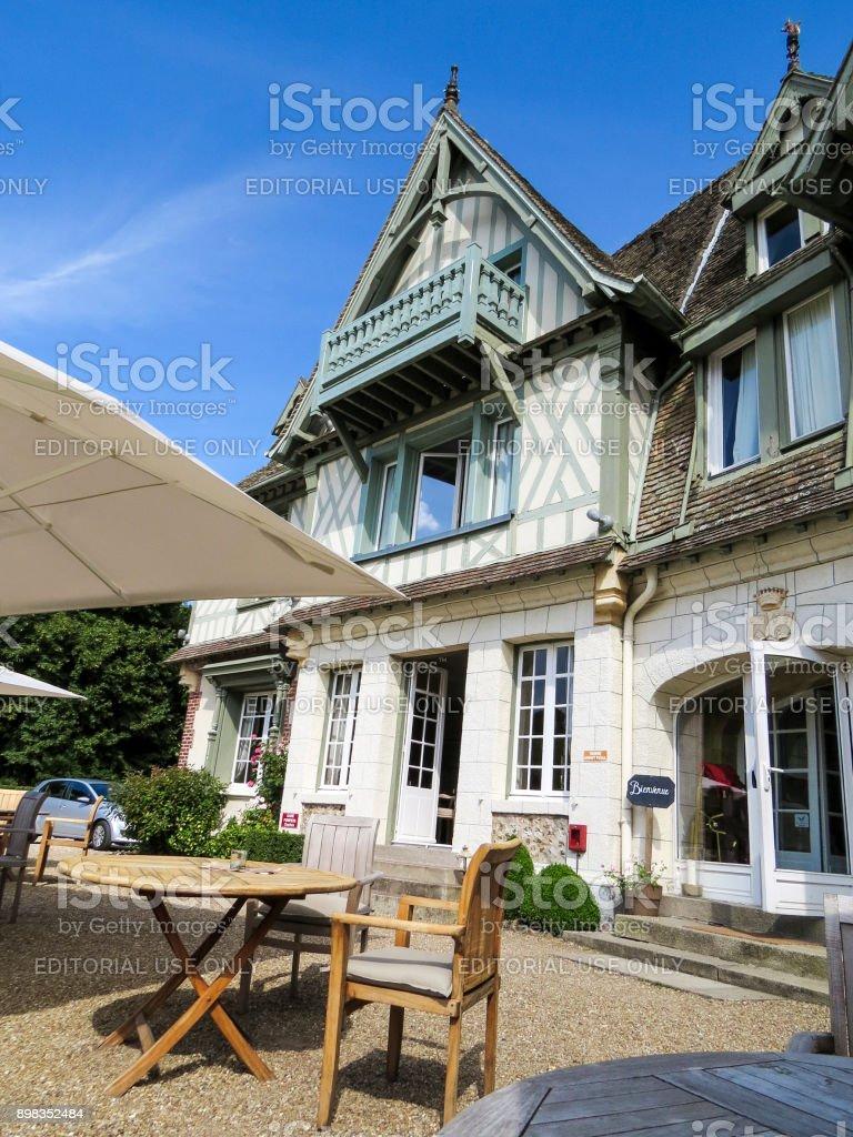 Honfleur, Normandy, France stock photo