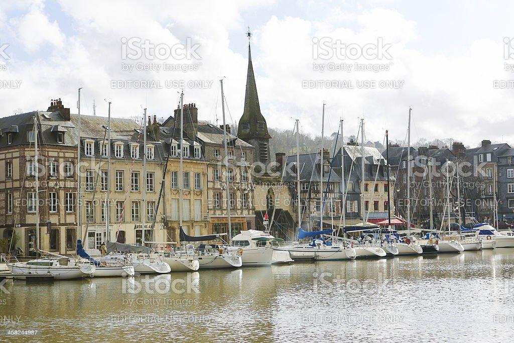 Honfleur royalty-free stock photo