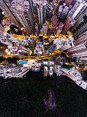 istock Hong Kong aerial view 907945550