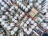 istock Hong Kong aerial view 907988592