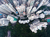 istock Hong Kong aerial view 907997478