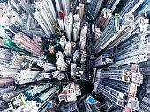 istock Hong Kong aerial view 907997490