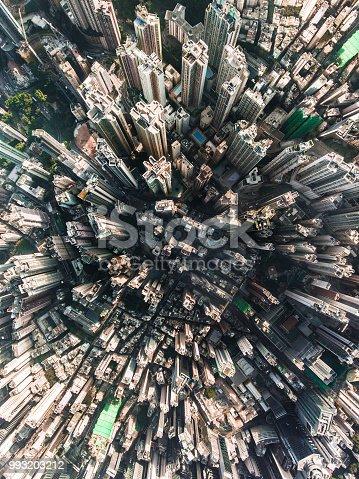 istock Hong Kong aerial view 993203212