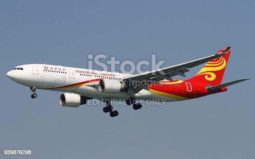 istock Hong Kong Airlines A330 639876298
