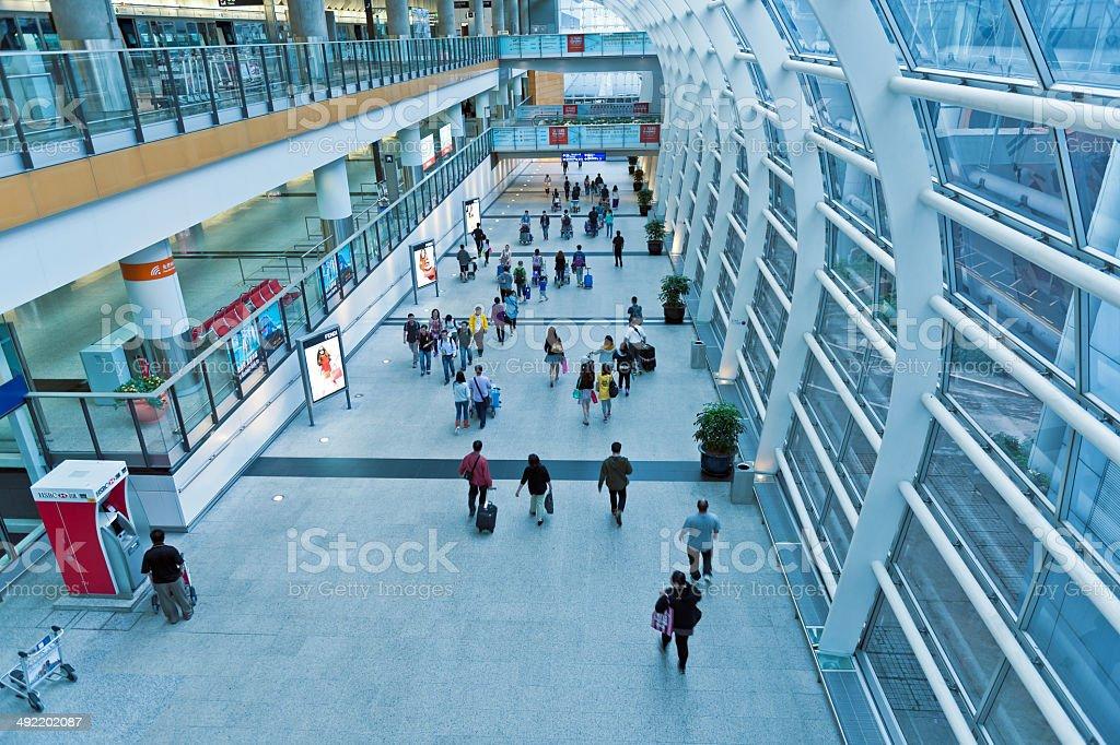 Aeroporto de Hong Kong, China Asia - foto de acervo
