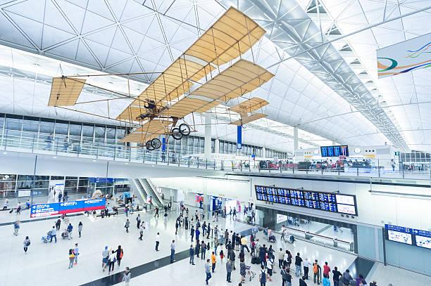 Flughafen Hongkong – Foto