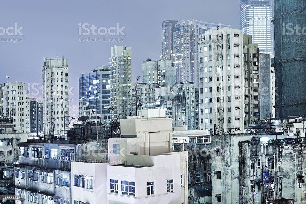 Hong Kong Architecture royalty-free stock photo