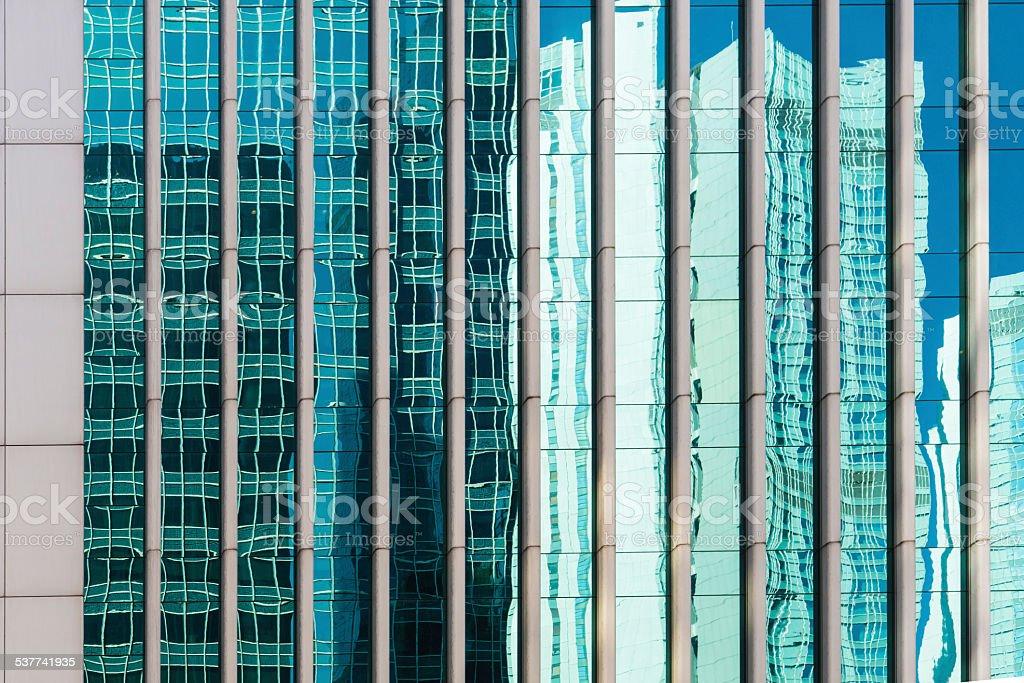Hong Kong architecture stock photo