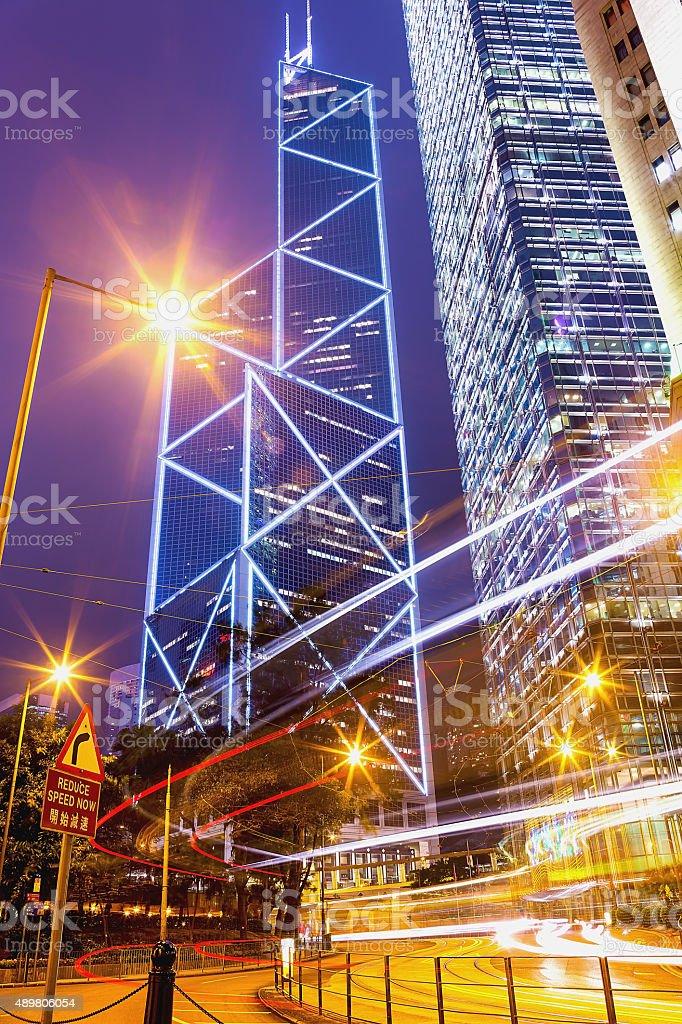 Hong Kong bei Nacht – Foto